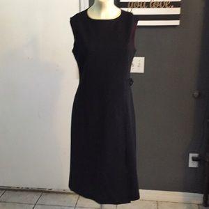 Barbara bui black wool pencil dress size 42 medium